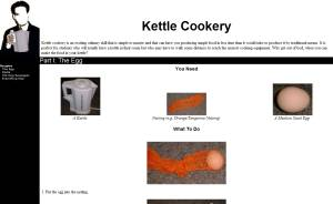 Cooking with kettles